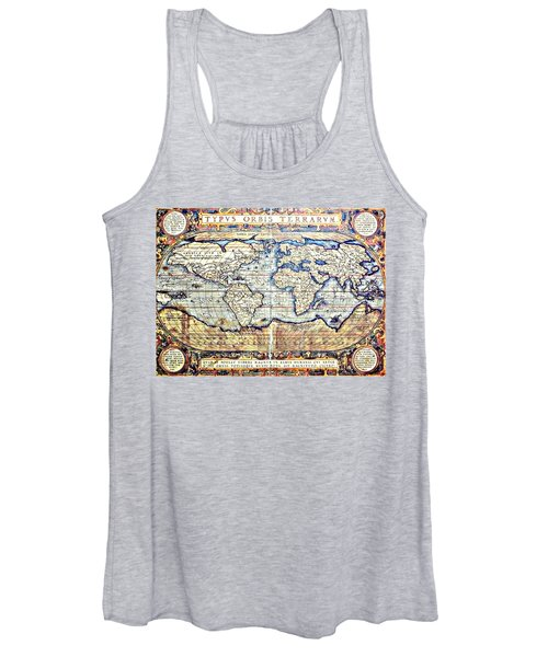 Hemisphere World  Women's Tank Top