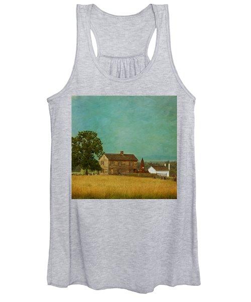 Henry House At Manassas Battlefield Park Women's Tank Top