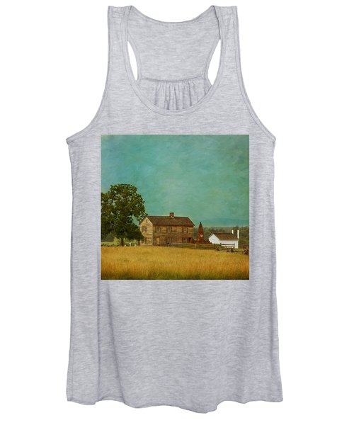Henry House At Manassas Battlefield Park Women's Tank Top