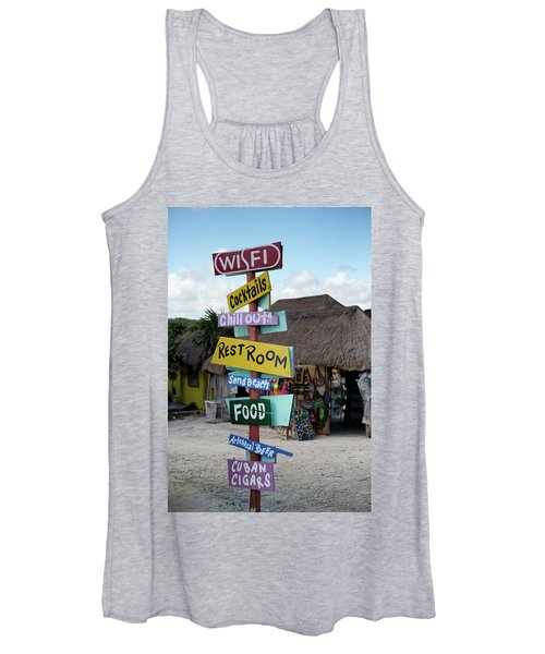 Here's What's Here 1 Women's Tank Top