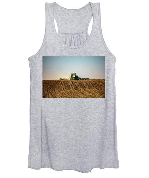 Herringbone Sowing Women's Tank Top