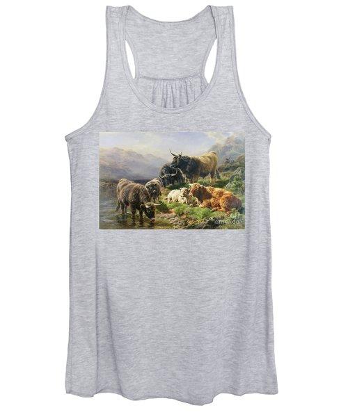 Highland Cattle Women's Tank Top