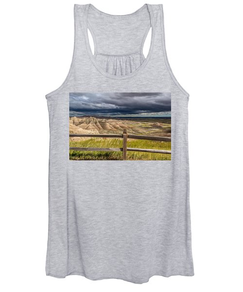 Hills Behind The Fence Women's Tank Top