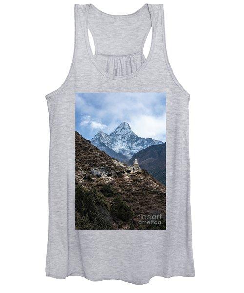Himalayan Yak Train Women's Tank Top