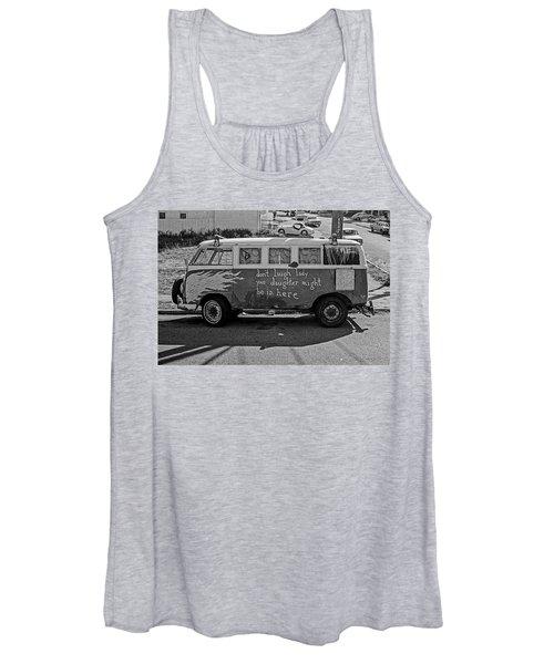 Hippie Van, San Francisco 1970's Women's Tank Top