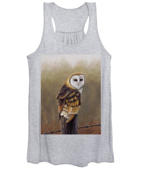 His Majesty Sits Women's Tank Top
