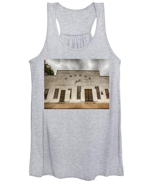 Historic Gruene Hall Women's Tank Top