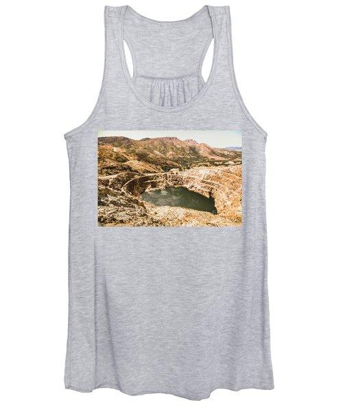 Historic Iron Ore Mine Women's Tank Top