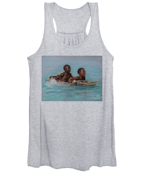 Holiday Splash Women's Tank Top