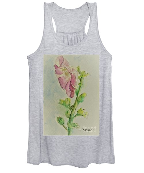 Hollyhock The Harbinger Of Summer Women's Tank Top