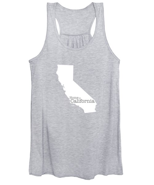 Home Is California Women's Tank Top