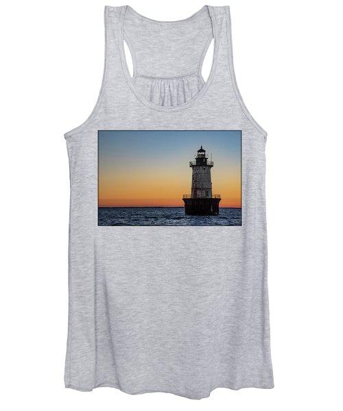 Hoopers Island Sunset Women's Tank Top