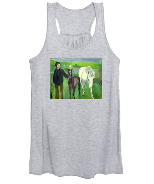 Horse And Foal Women's Tank Top