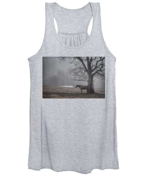 Horse And Tree Women's Tank Top