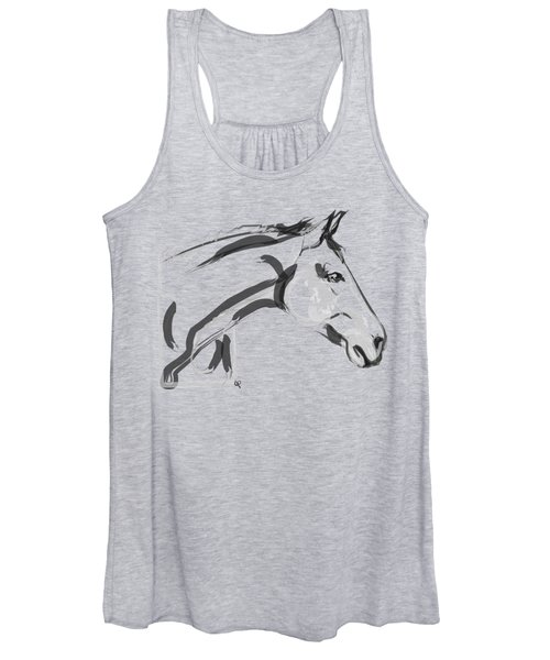 Horse - Lovely Women's Tank Top