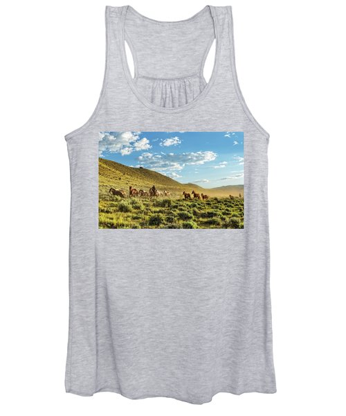 Horses And More Horses Women's Tank Top
