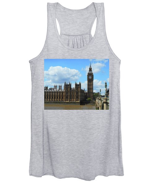 House Of Lords Big Ben Tower London Women's Tank Top