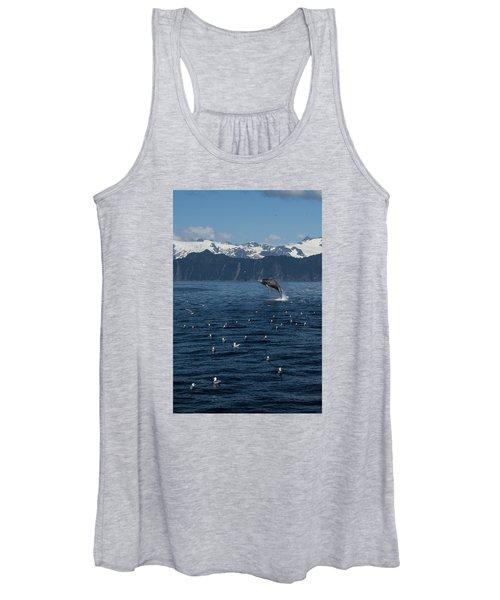 Humpback Whale Breach 3.1. Mp Women's Tank Top