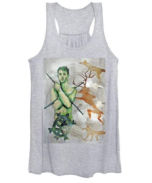 Youth Hunting Turtles Women's Tank Top