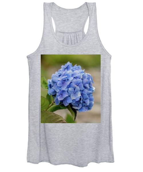 #hydrangea In Blue Women's Tank Top