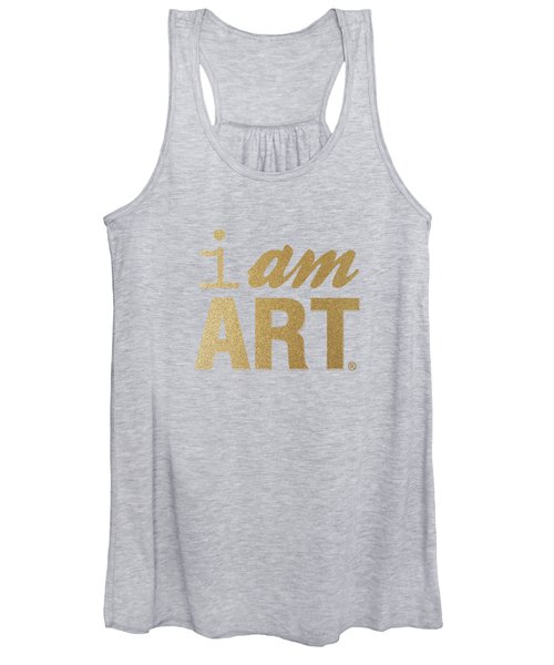 I Am Art- Gold Women's Tank Top