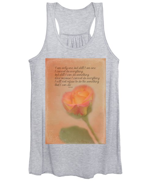 I Am Only One Women's Tank Top