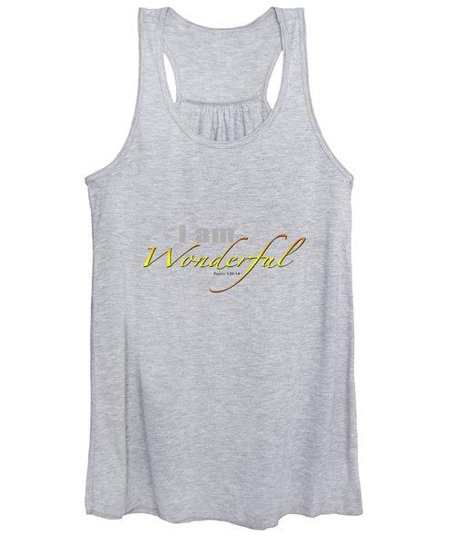 i am Wonderful Women's Tank Top