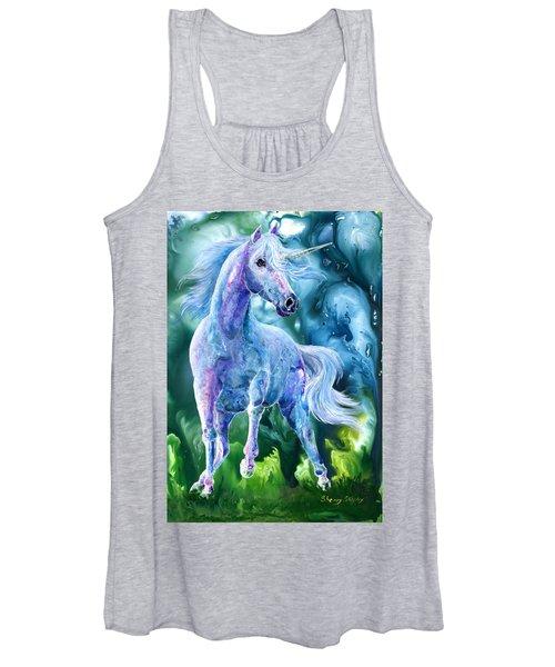 I Dream Of Unicorns Women's Tank Top