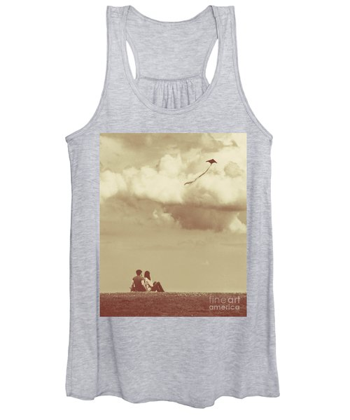 I Had A Dream I Could Fly From The Highest Swing Women's Tank Top