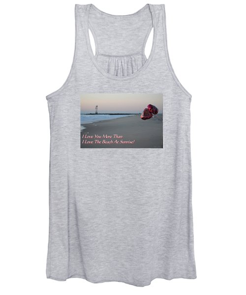 I Love You More Than... Women's Tank Top