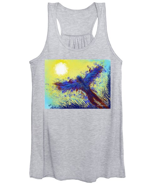 Women's Tank Top featuring the digital art Icarus by Antonio Romero
