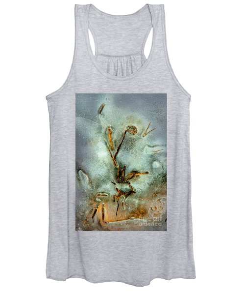 Ice Abstract Women's Tank Top