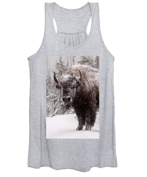 Ice Cold Winter Buffalo Women's Tank Top