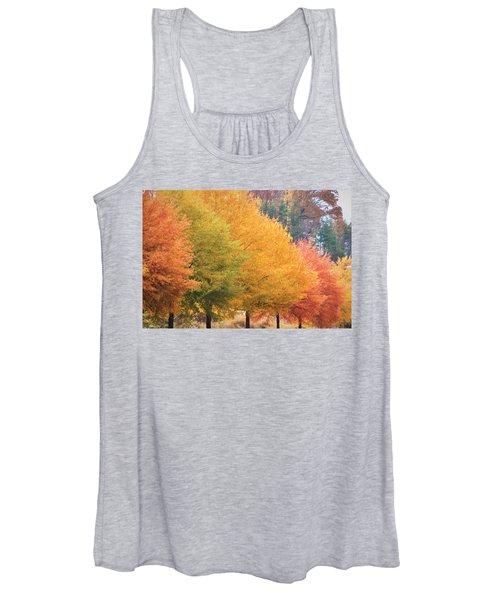 October Trees Women's Tank Top