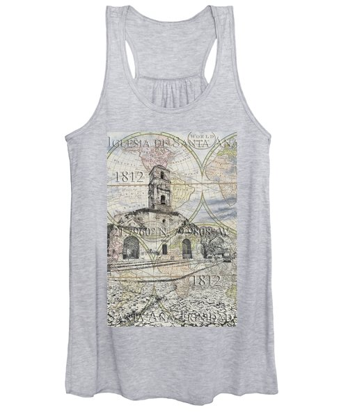 Iglesia De Santa Ana Passport Women's Tank Top
