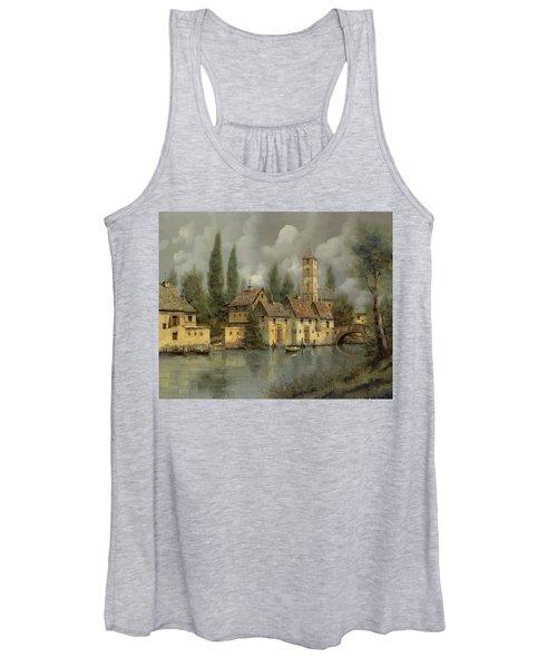 Il Borgo Sul Fiume Women's Tank Top