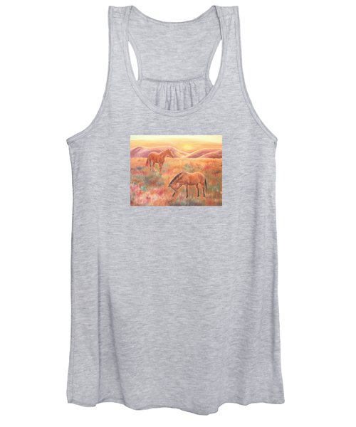 Impressions At Sunset Women's Tank Top