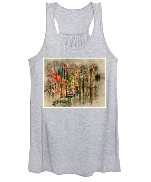 Impressions Of Venice Women's Tank Top