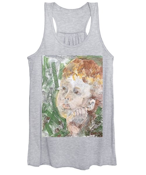 In The Eyes Of A Child Women's Tank Top