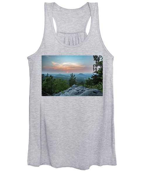 In The Land Of Mesas Women's Tank Top