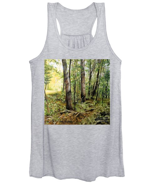 In The Shaded Forest  Women's Tank Top