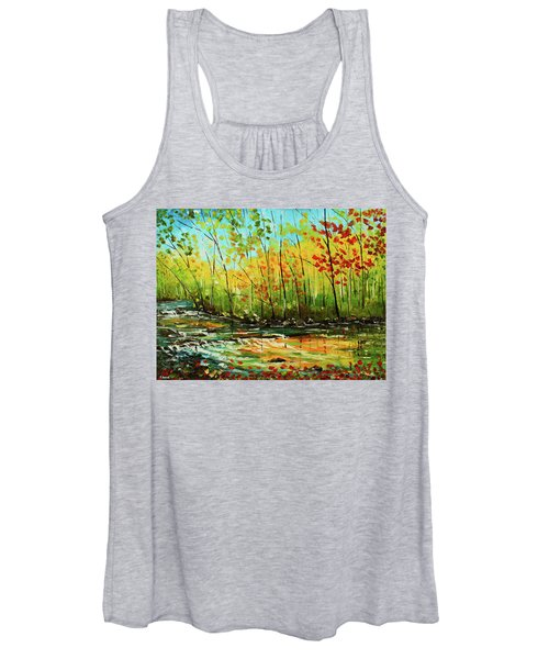 In The Woods Women's Tank Top