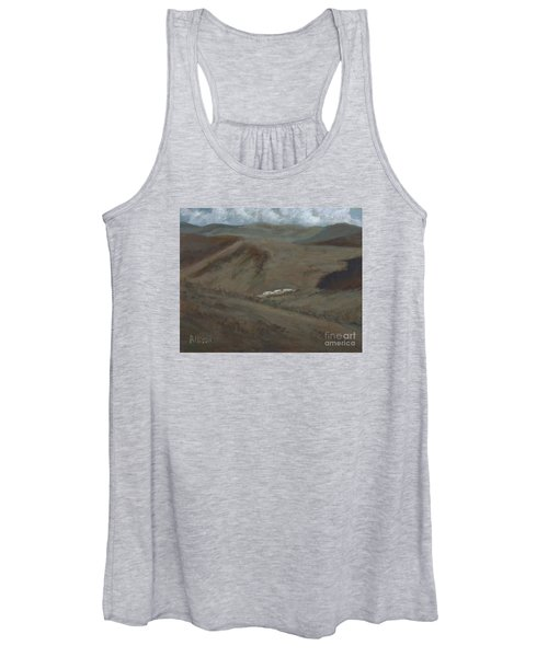 Indian Lodge - A View From The Top Ft. Davis, Tx Women's Tank Top
