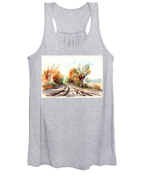 Indian Summer I Women's Tank Top