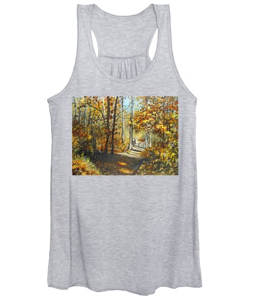 Indian Summer Trail Women's Tank Top