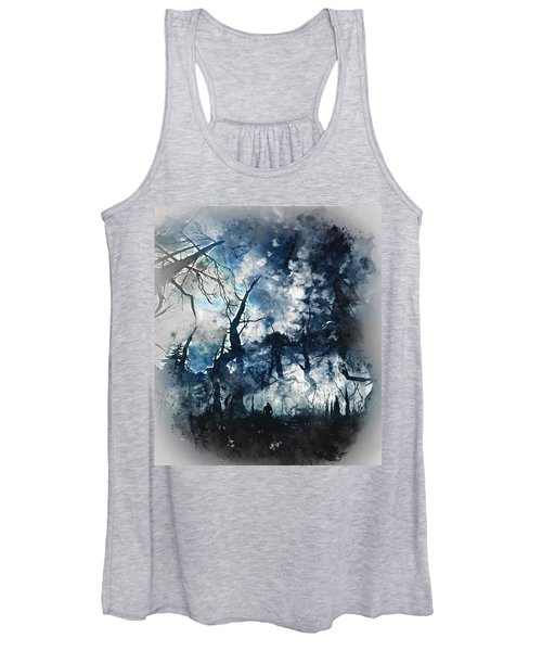 Into The Darkness - 01 Women's Tank Top