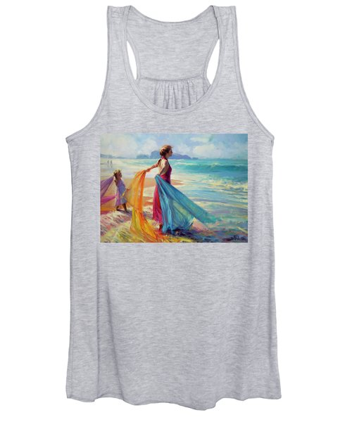 Into The Surf Women's Tank Top
