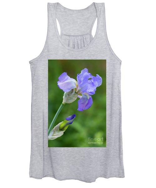 Iris Blue Women's Tank Top