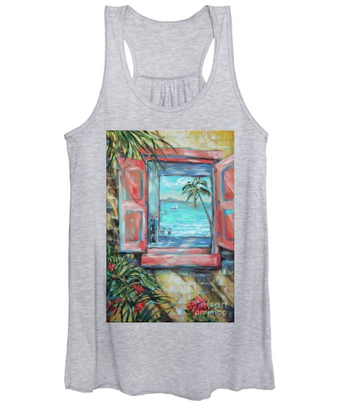 Island Bar Coral Women's Tank Top