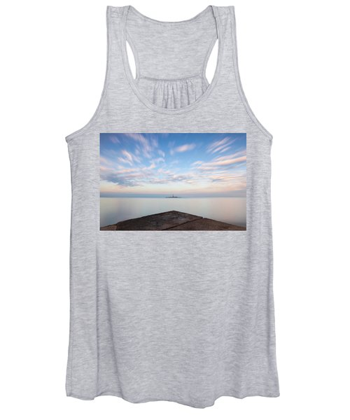 Islet Baraban With Lighthouse Women's Tank Top